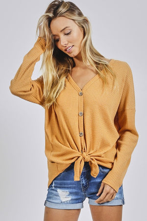 Pre-Order Joslyn Button Top