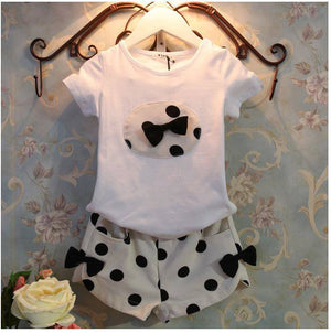 White Polka Dot Sort Set
