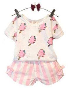 Ice Cream Short Set