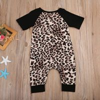 Light Leopard Romper