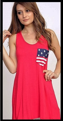 Patriotic Pocket Tank