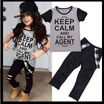Keep Calm Pant Set