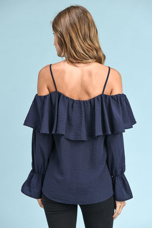 Off the Shoulder Flounce