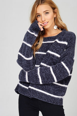 Super Soft Sweater- Charcoal