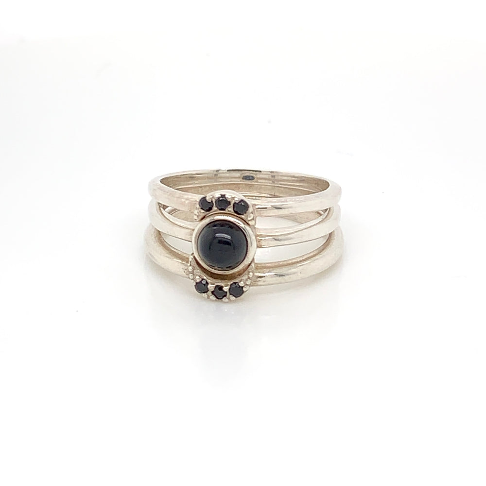 Triple Goddess Ring