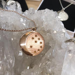 Moon Goddess Pendant Gold