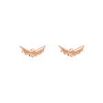 Baby Bat Earrings Gold
