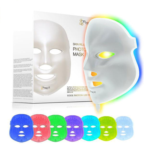 7 LED Light Photon Therapy Mask