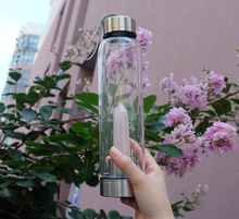 Load image into Gallery viewer, Natural Healing Elixir Crystal Water Bottle