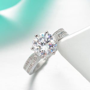 Fairytale Diamond Silver Ring