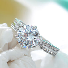 Load image into Gallery viewer, Fairytale Diamond Silver Ring