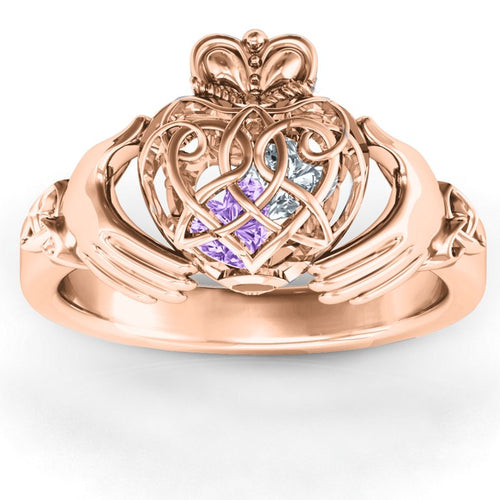 Heart Caged Ring