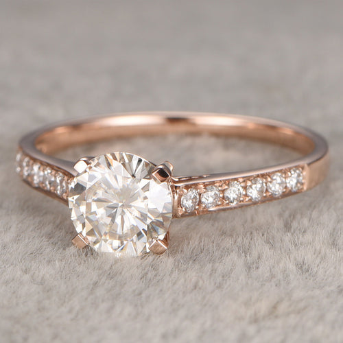 Fairy Moissanite Diamond Ring