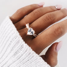 Load image into Gallery viewer, Diamond Heart Ring