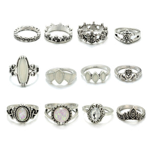 Luxria Halo Crown Rings