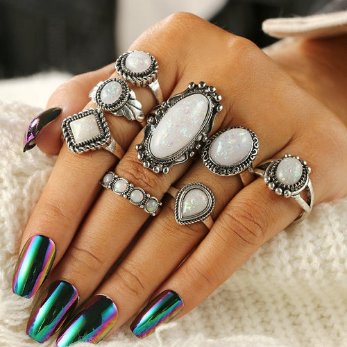 Luxria Party Opal Rings