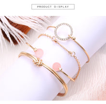 Load image into Gallery viewer, Bohemian Luxe Gold & Silver Bracelets