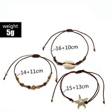 Load image into Gallery viewer, Bohemian Brown Rope Bracelets