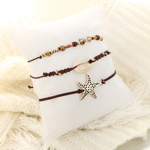 Bohemian Brown Rope Bracelets