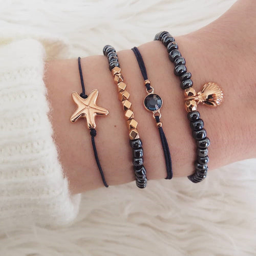 Bohemian Fashion Dark Bracelets