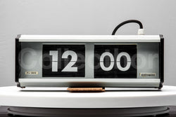 Industrial Flip Clock 1980s