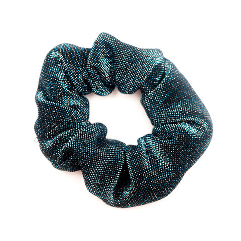 Blue Sparkling Scrunchie