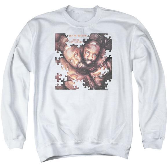 Isaac Hayes - To Be Continued Adult Crewneck Sweatshirt
