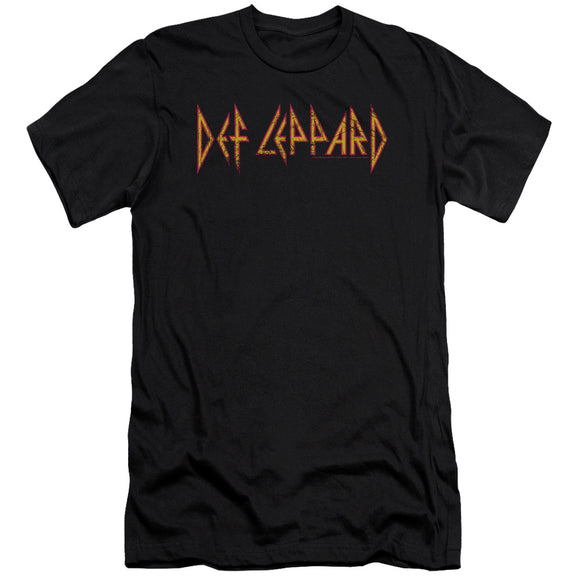 Def Leppard - Horizontal Logo Premium Canvas Adult Slim Fit 30/1