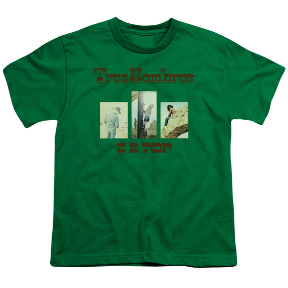 Zz Top - Tres Hombres Short Sleeve Youth 18/1