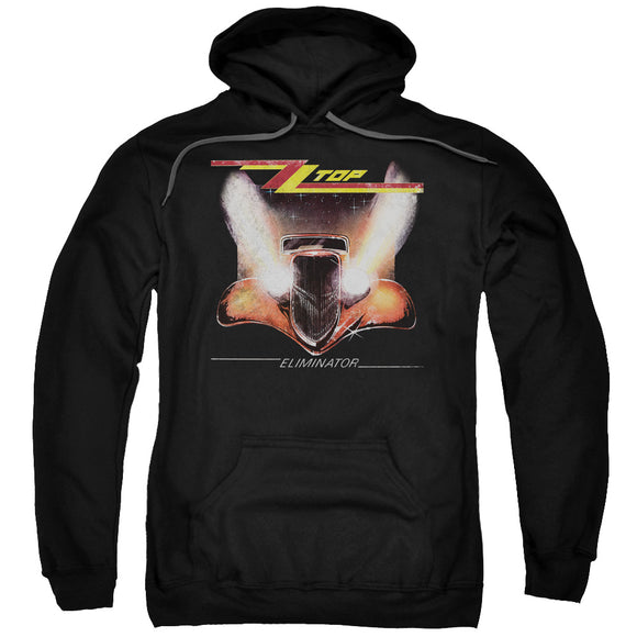 Zz Top - Eliminator Cover Adult Pull Over Hoodie