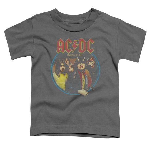 Acdc - Highway To Hell Short Sleeve Toddler Tee