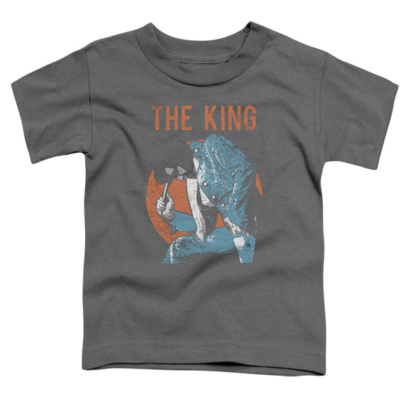 Elvis - Mic In Hand Short Sleeve Toddler Tee