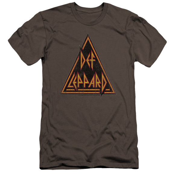 Def Leppard - Distressed Logo Premium Canvas Adult Slim Fit 30/1
