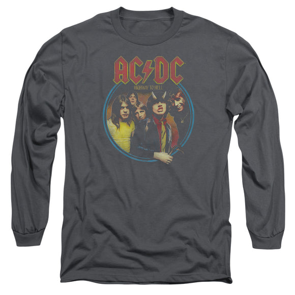 Acdc - Highway To Hell Long Sleeve Adult 18/1