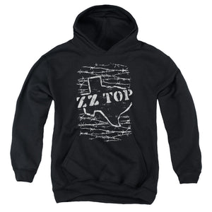 Zz Top - Barbed Youth Pull Over Hoodie