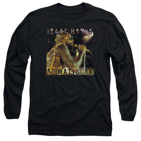 Isaac Hayes - At Wattstax Long Sleeve Adult 18/1