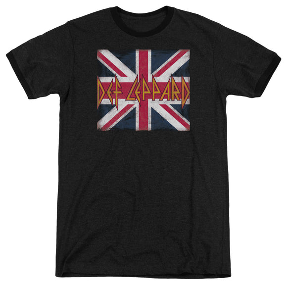 Def Leppard - Union Jack Adult Heather