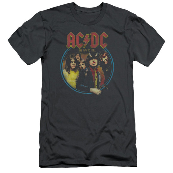 Acdc - Highway To Hell Short Sleeve Adult 30/1