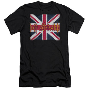 Def Leppard - Union Jack Short Sleeve Adult 30/1