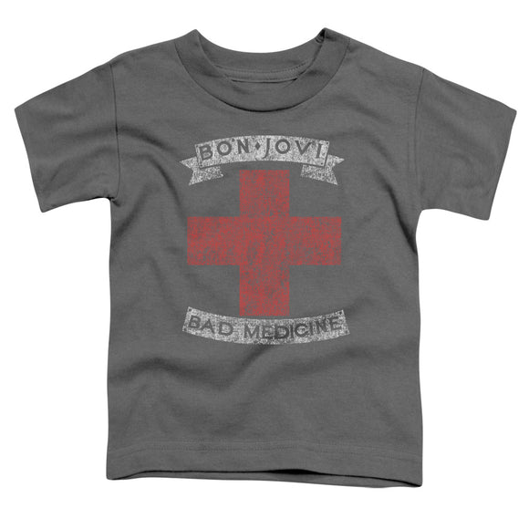 Bon Jovi - Bad Medicine Short Sleeve Toddler Tee