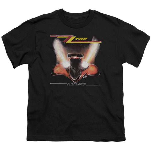 Zz Top - Eliminator Cover Short Sleeve Youth 18/1
