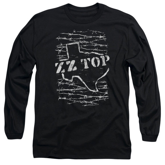 Zz Top - Barbed Long Sleeve Adult 18/1