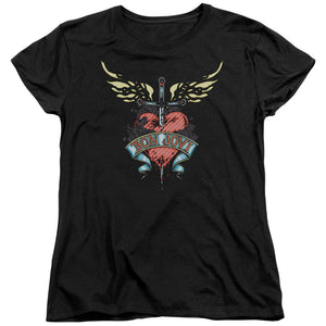 Bon Jovi - Daggered Short Sleeve Women's Tee