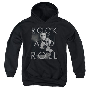 Elvis - Rock And Roll Youth Pull Over Hoodie