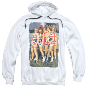 Def Leppard - Flag Photo Adult Pull Over Hoodie