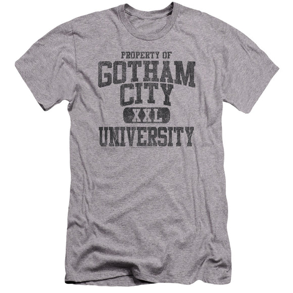 Batman - Property Of Gcu Premium Canvas Adult Slim Fit 30/1