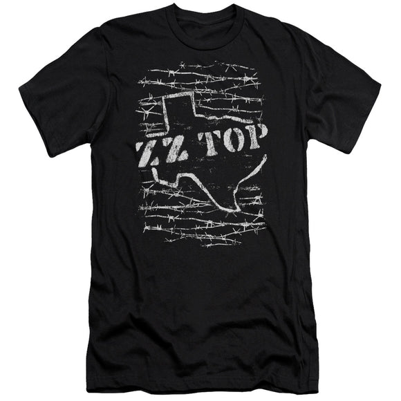 Zz Top - Barbed Premium Canvas Adult Slim Fit 30/1