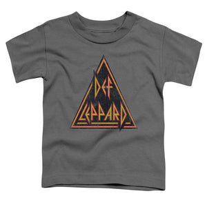 Def Leppard - Distressed Logo Short Sleeve Toddler Tee