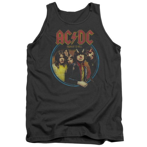 Acdc - Highway To Hell Adult Tank