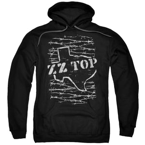 Zz Top - Barbed Adult Pull Over Hoodie